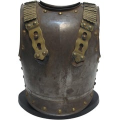 French Military Steel and Brass Armor, Late 18th-Early 19th Century