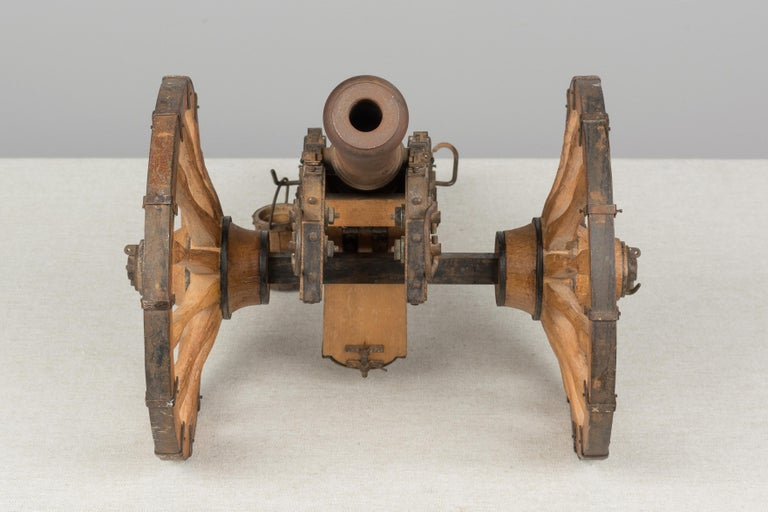 French Miniature Model Cannon For Sale 5