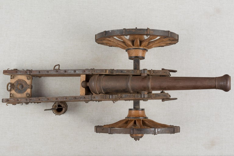 French Miniature Model Cannon For Sale 6