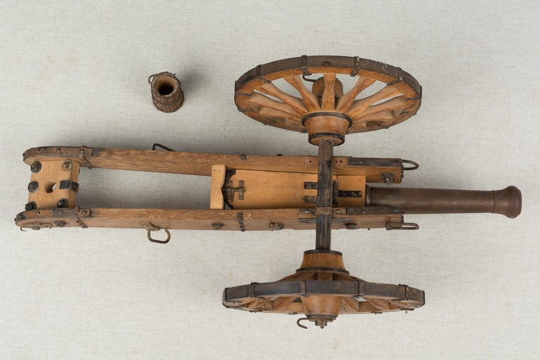French Miniature Model Cannon For Sale 7