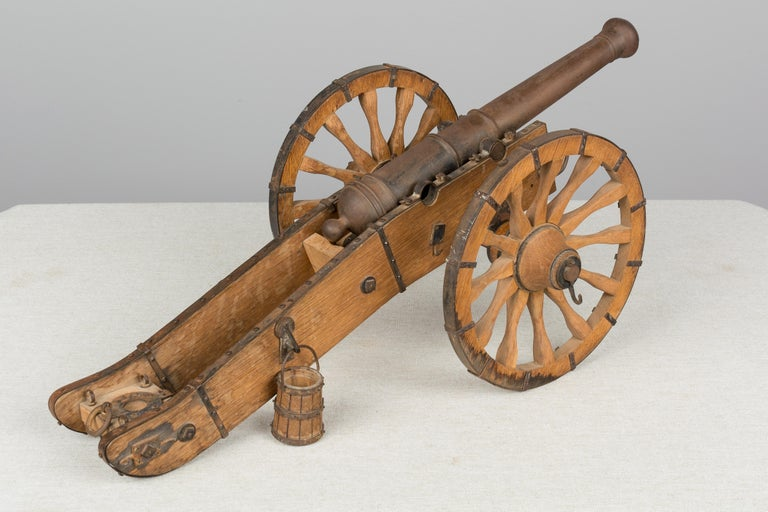 French Miniature Model Cannon For Sale 1