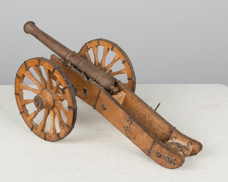 French Miniature Model Cannon For Sale 2