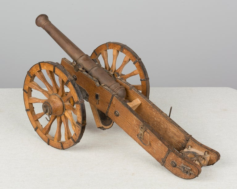 French Miniature Model Cannon For Sale 3