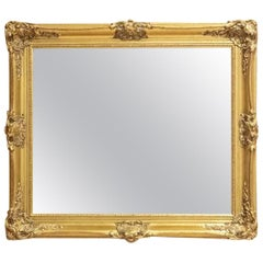 French Mirror in a Gilded Frame, circa 1900