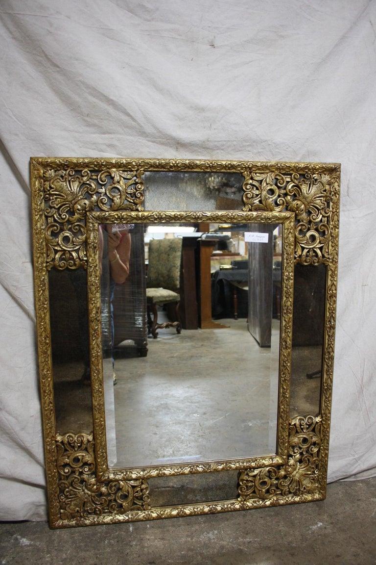 French mirror, Louis XIV style.