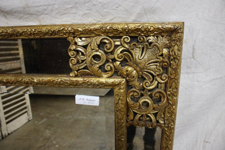 20th Century French Mirror, Louis XIV Style For Sale
