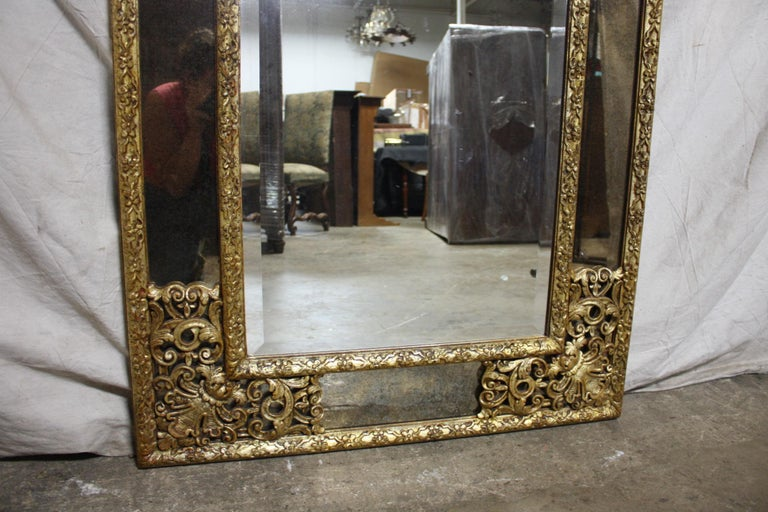 French Mirror, Louis XIV Style For Sale 2