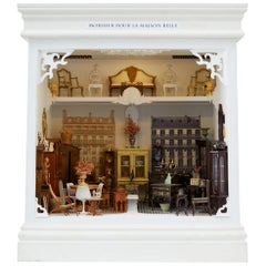 French Mobilier Maison Miniature Dollhouse by Tom Roberts