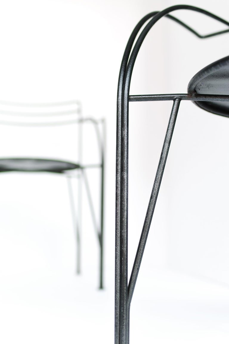 French Modern Patio Chairs by Pascal Mourgue For Sale 5