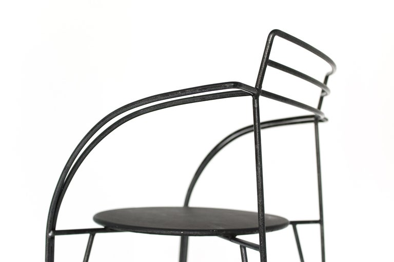French Modern Patio Chairs by Pascal Mourgue For Sale 12