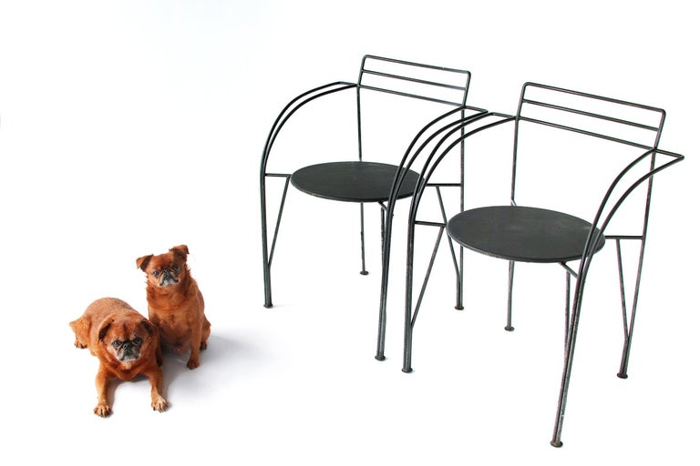 French Modern Patio Chairs by Pascal Mourgue For Sale 13
