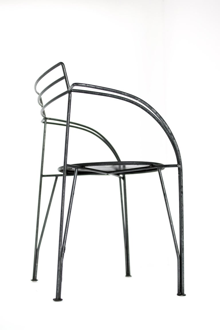 Late 20th Century French Modern Patio Chairs by Pascal Mourgue For Sale