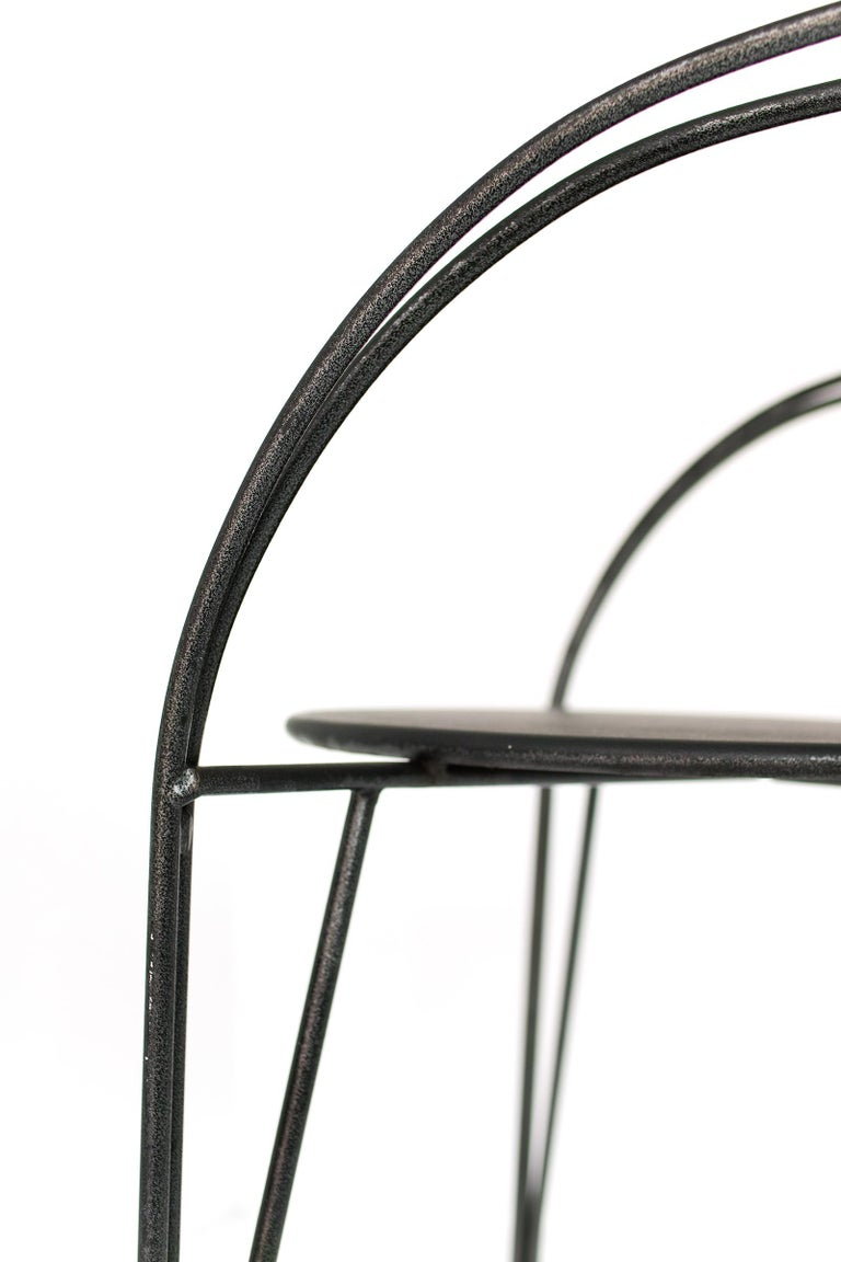 Metal French Modern Patio Chairs by Pascal Mourgue For Sale