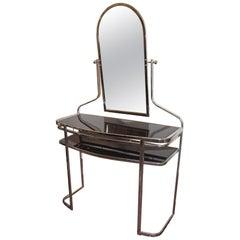 French Moderne Style Vanity