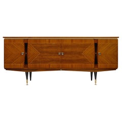 French Modernist Rosewood Buffet