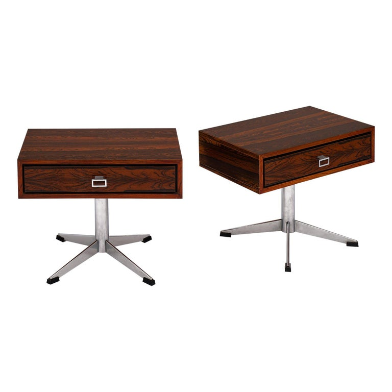 French Modernist Side Tables For Sale