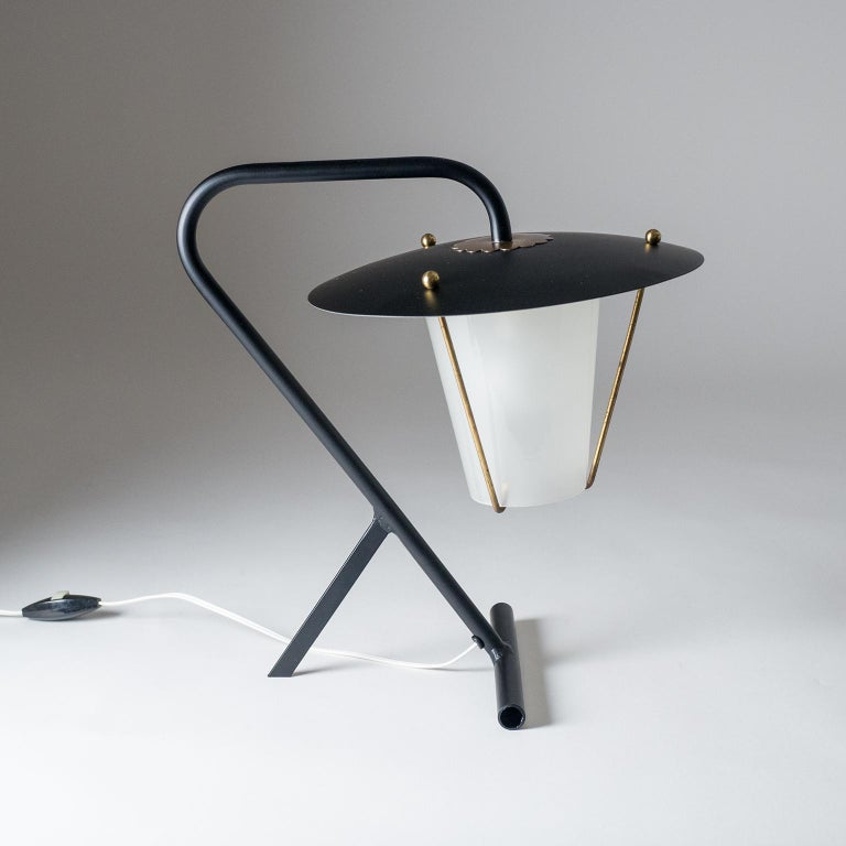 French Modernist Table Lamp, circa 1950 For Sale 4