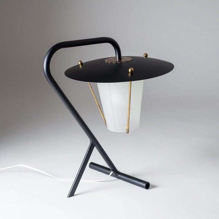 French Modernist Table Lamp, circa 1950 For Sale 6