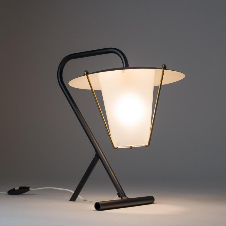 French Modernist Table Lamp, circa 1950 For Sale 1