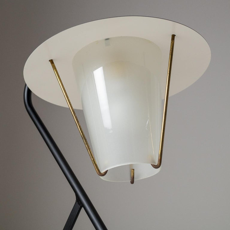 French Modernist Table Lamp, circa 1950 For Sale 2