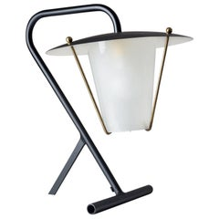 French Modernist Table Lamp, circa 1950