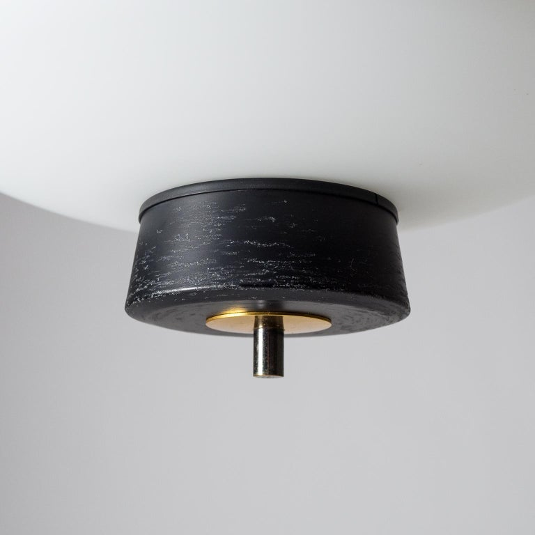 French Modernist 'UFO' Pendant, 1950s For Sale 3