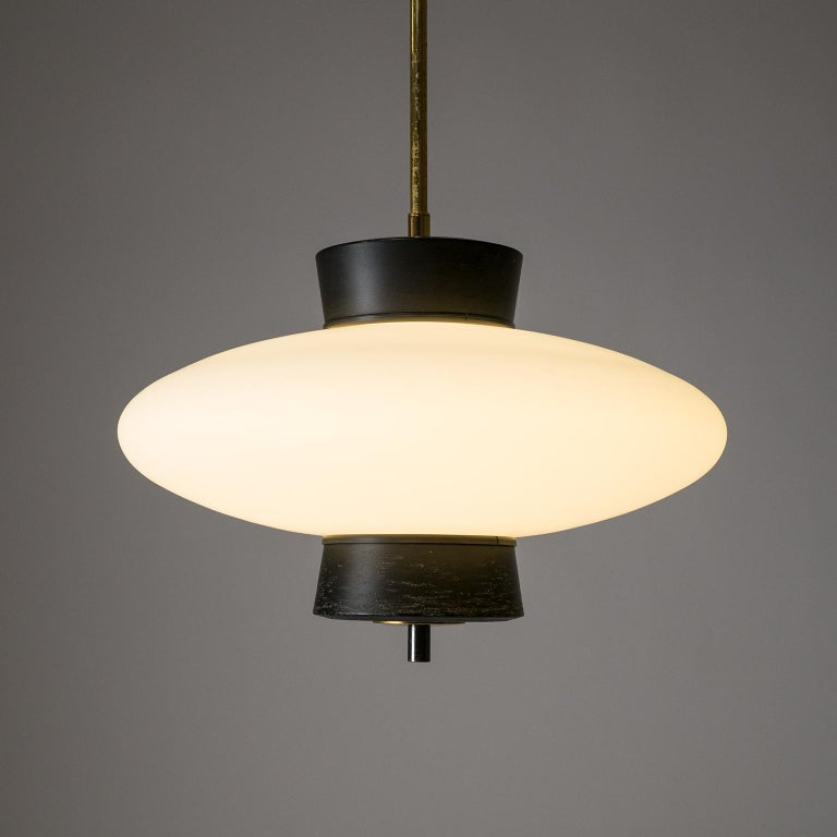 French Modernist 'UFO' Pendant, 1950s For Sale 6