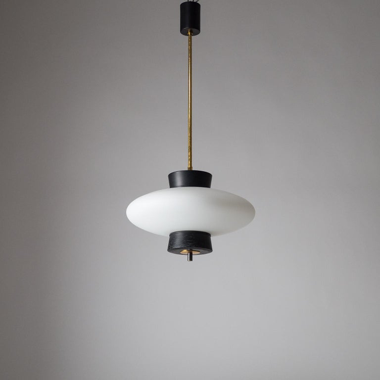 French Modernist 'UFO' Pendant, 1950s For Sale 10
