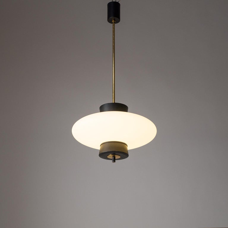 Mid-20th Century French Modernist 'UFO' Pendant, 1950s For Sale