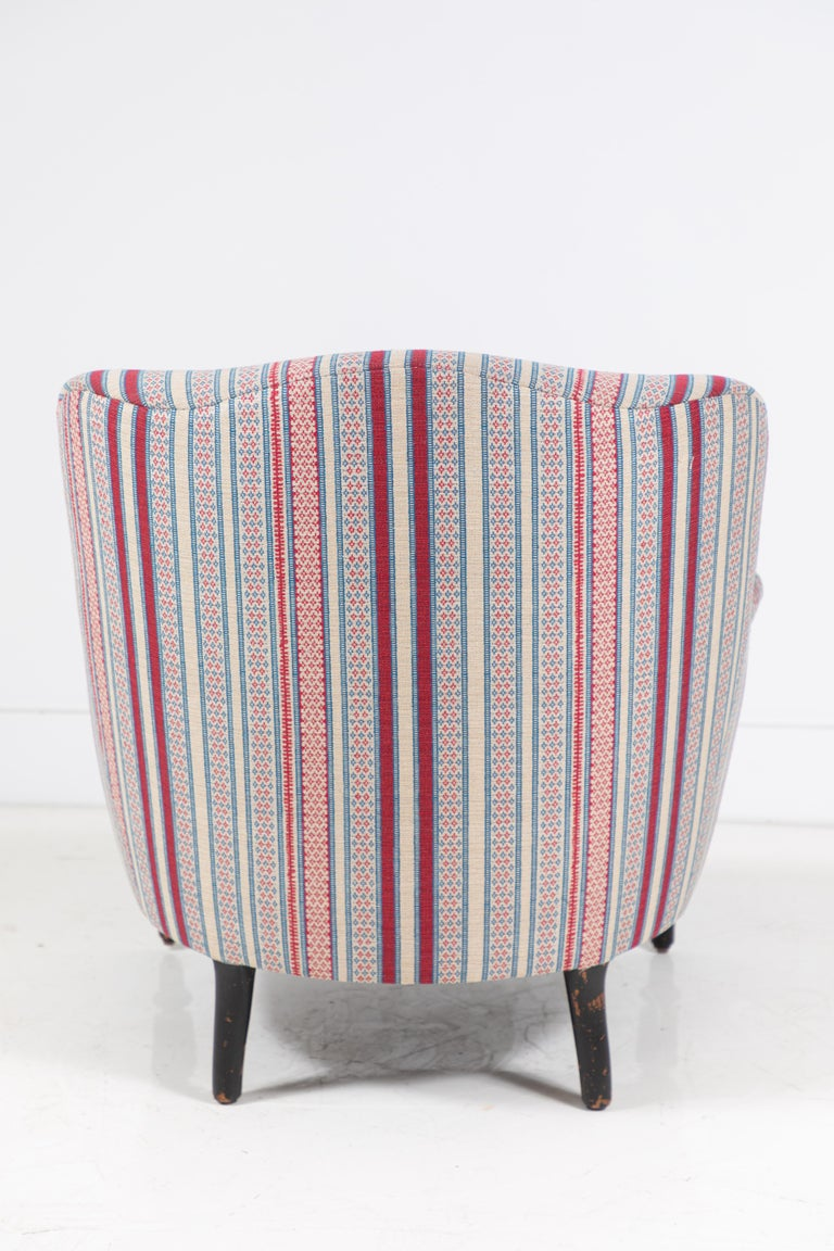 Mid-20th Century French Napoleon Chair For Sale
