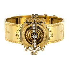 Pearl Clamper Bracelets