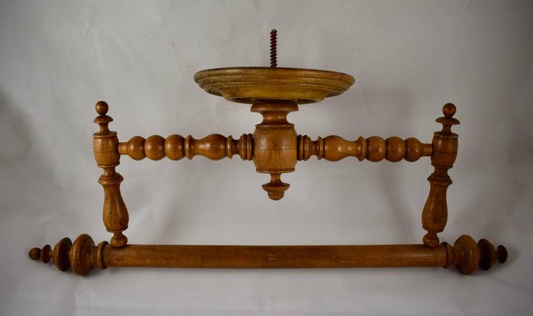 Antique Furniture French Antique Ciel De Lit Towel Rail Edwardian (1901-1910)
