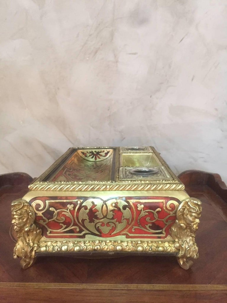 19th Century French Napoleon III Gilded Brass