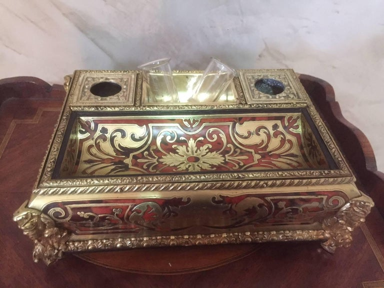 French Napoleon III Gilded Brass
