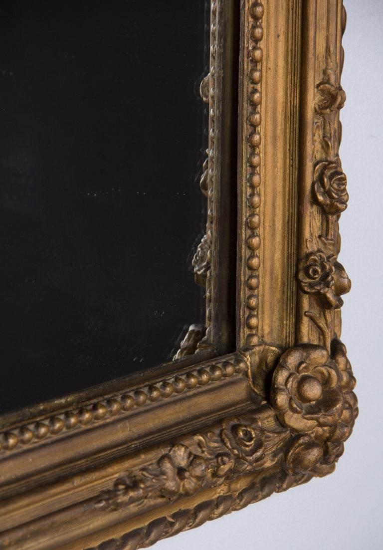 French Napoleon III Period Gilded Mirror, 1870s 8