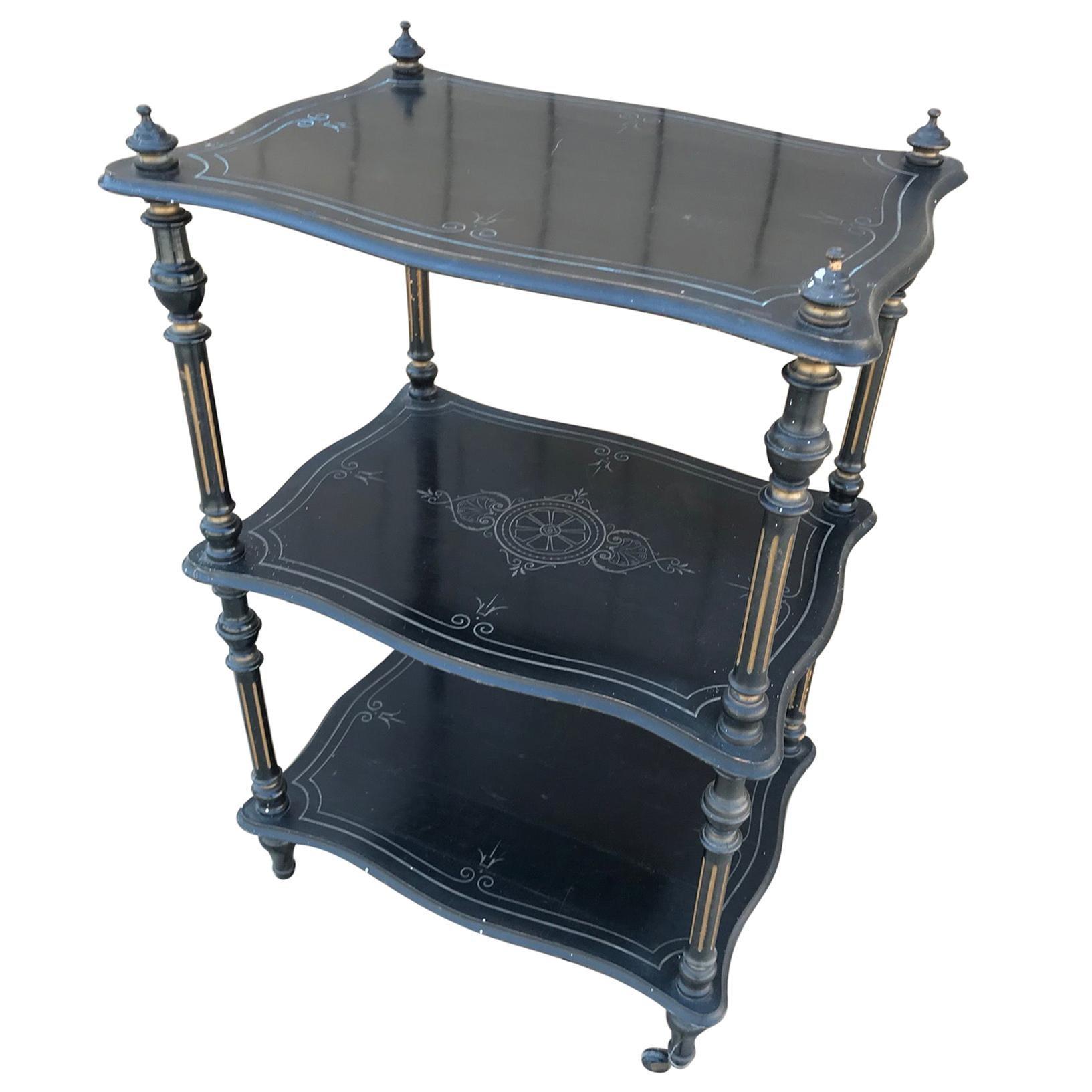 French Napoleon III Serving Table