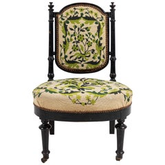 French Needlepoint Side Chair