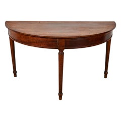 French Neoclassical Demliune Tables