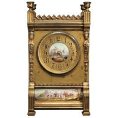 French Neoclassical Mantel Clock