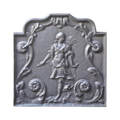 French Neoclassical Style 'Diana' Fireback