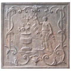 French Neoclassical Style 'Flora' Fireback
