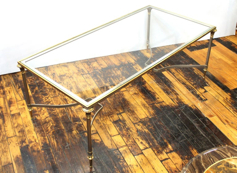 French Neoclassical Style Maison Jansen Coffee Table 1