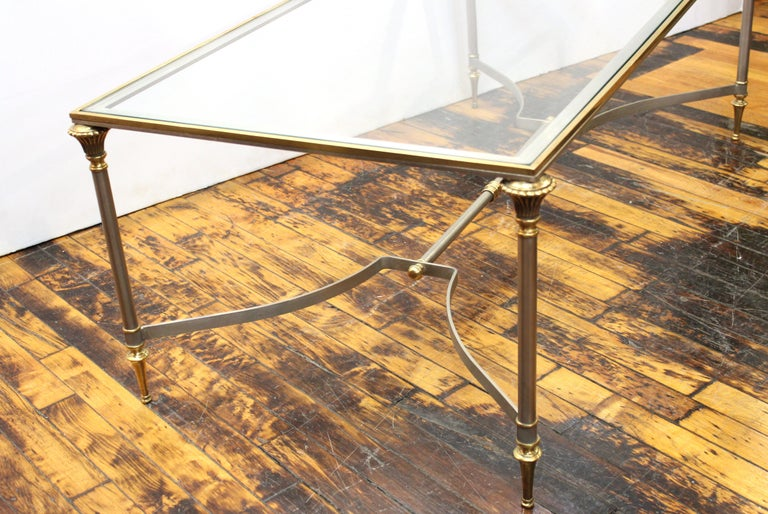 French Neoclassical Style Maison Jansen Coffee Table 2