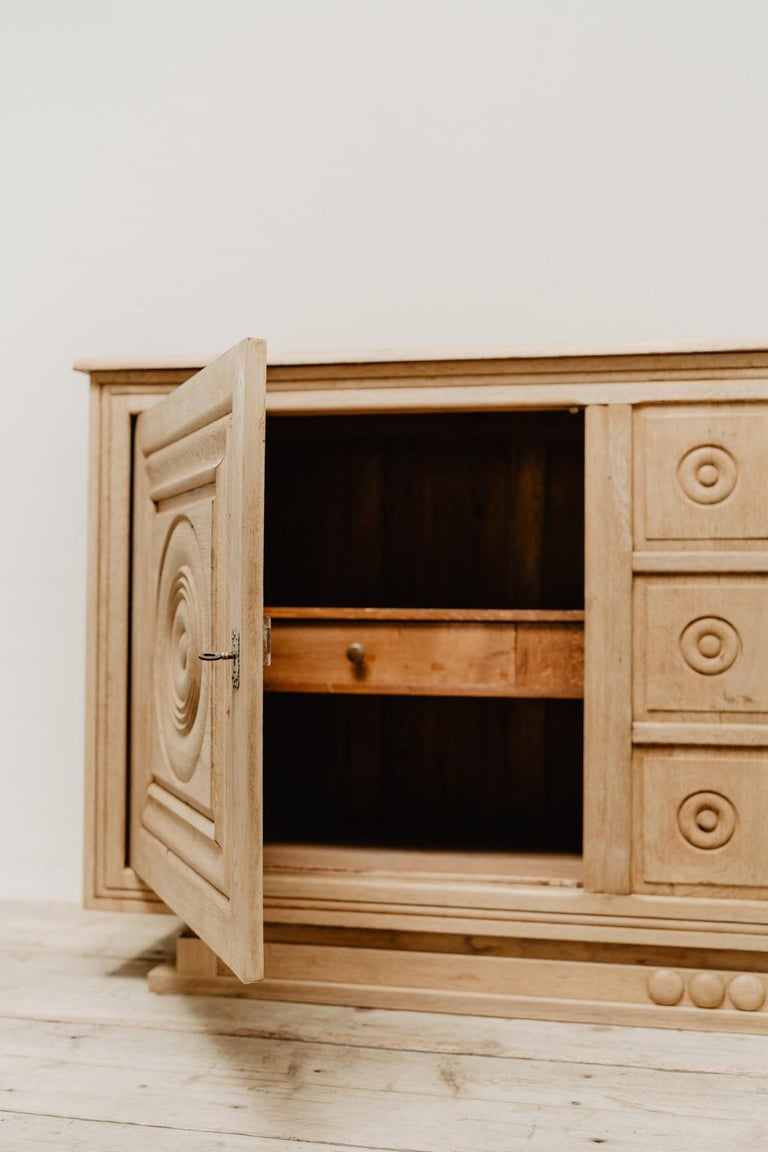 French Oak 1940s Cabinet For Sale 4