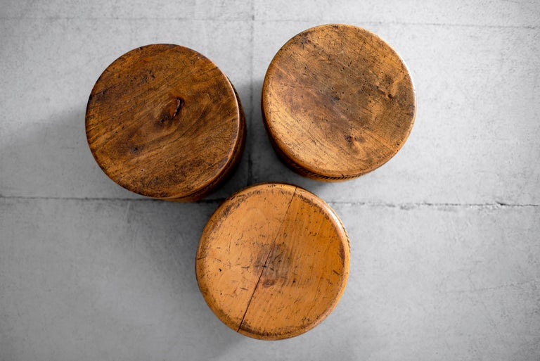 French Oak and Rope Stool For Sale 2