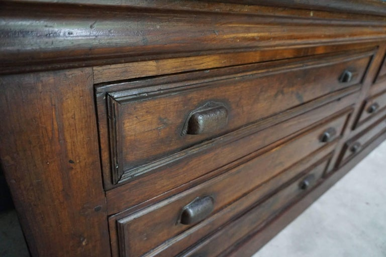 French Oak Apothecary Cabinet, 1920s For Sale 1