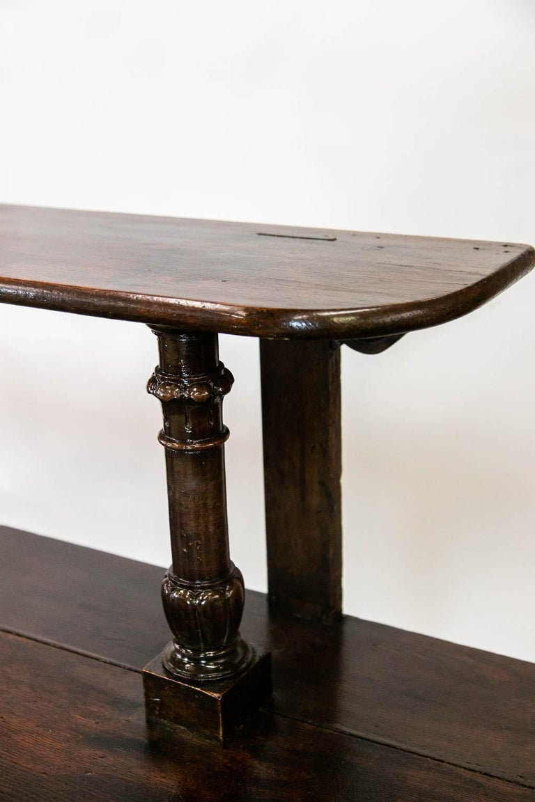 Early 19th Century French Oak Buffet Server For Sale