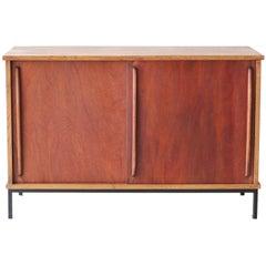 French Oak Cabinet in Style of Escande