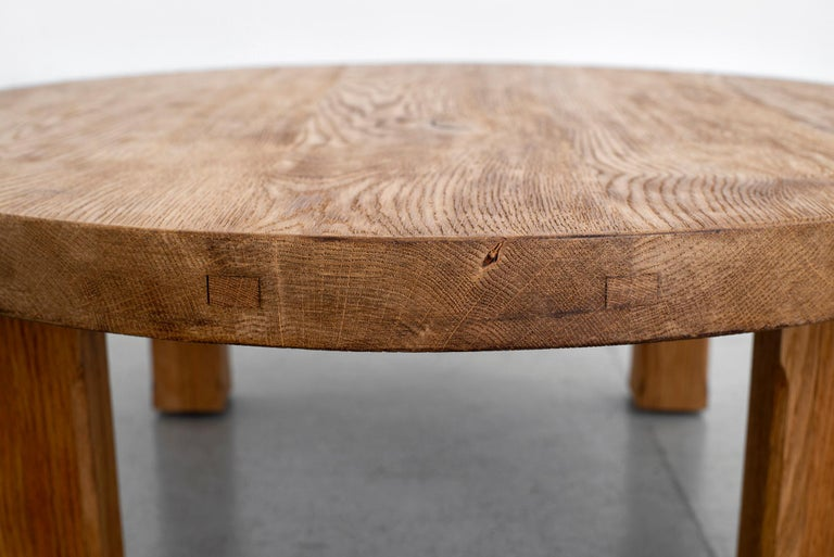 French Oak Coffee Table For Sale 2