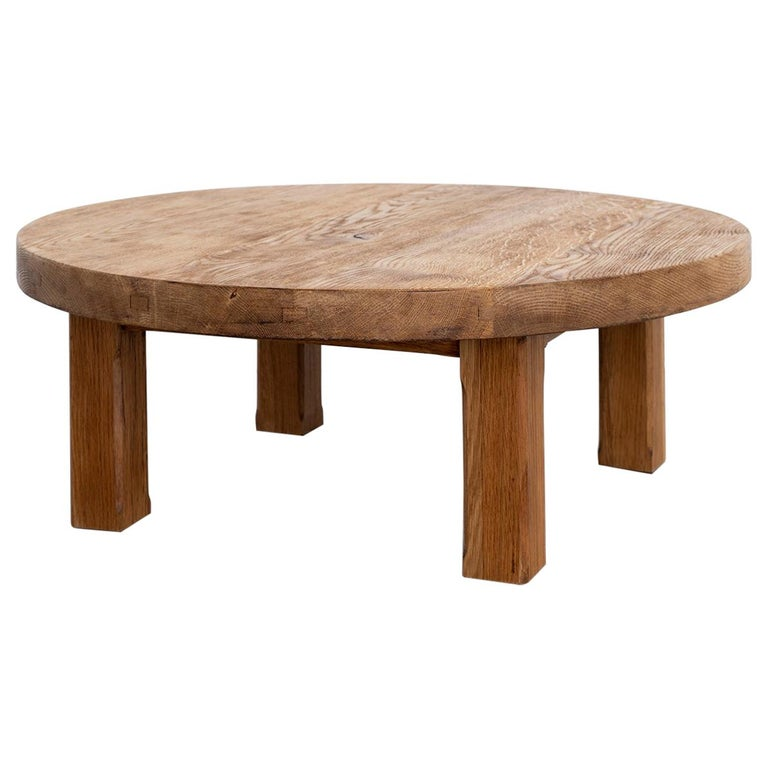 French Oak Coffee Table For Sale